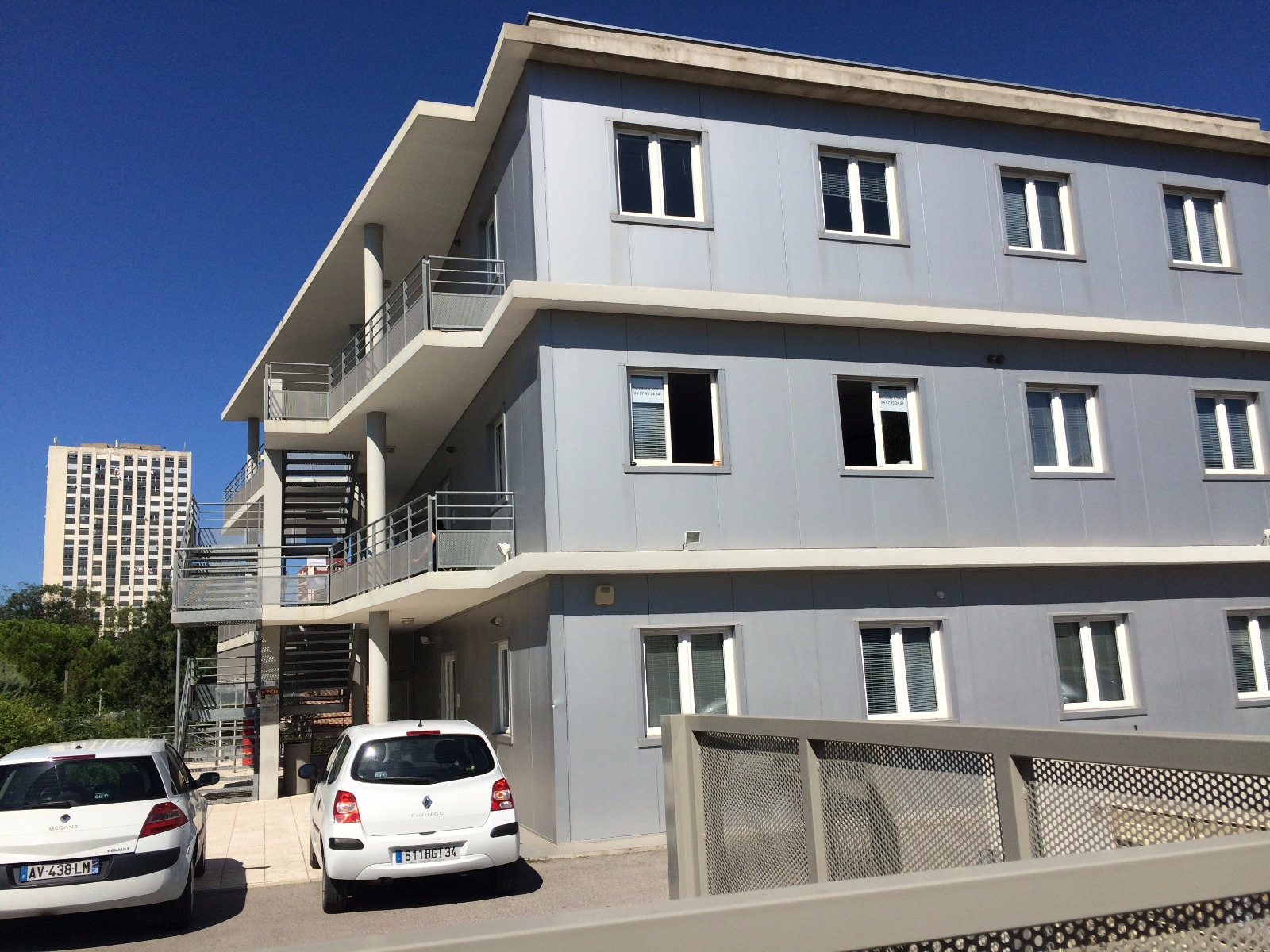 Location immobilier professionnel montpellier zone franche bureaux